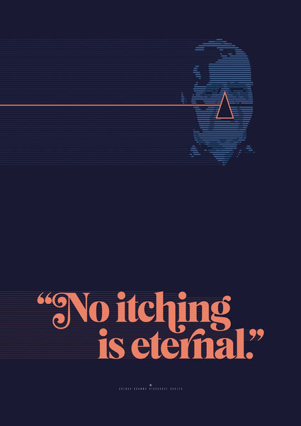 No Itching is Eternal - Goenka Vipassana Daily Discourse Quotes