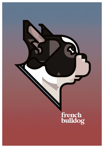 French Bulldog. European Unity