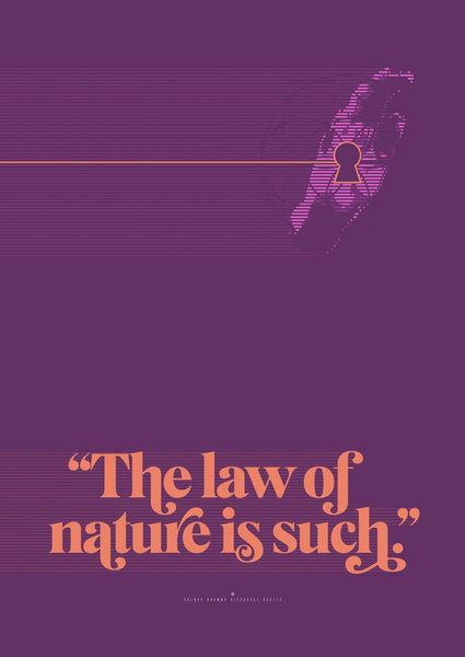 The Law of nature is such - Goenka Vipassana Daily Discourse Quote