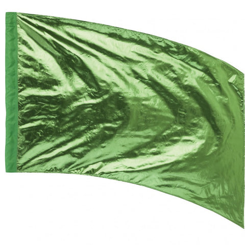 Lava Lamé Flag - Curved Rectangle