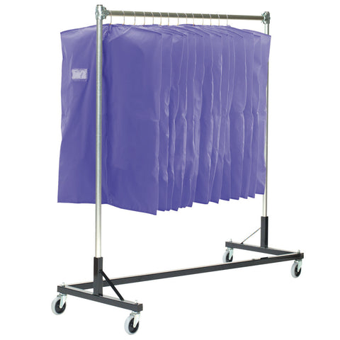 Z Style Uniform Storage Rack
