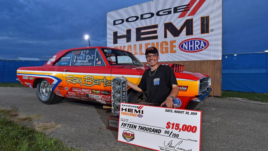 Four score; Jimmy Daniels bags fourth straight Dodge Hemi Challenge title