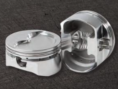 DIAMOND PISTONS: SB CHEVY 23 DEGREE STREET/STRIP DISH SERIES