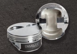 DIAMOND PISTONS: CHEVY LS3 L92 FLAT TOP