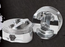 DIAMOND PISTONS: SB CHEVY 23 DEGREE ASCS USMTS DOME SERIES