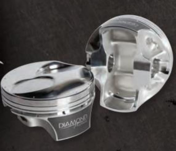 DIAMOND PISTONS: BB CHEVY DOME 18 DEGREE