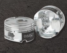 DIAMOND PISTONS: FORD ECOBOOST 2.3L, with wrist pins