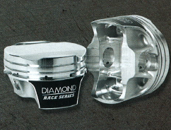 DIAMOND PISTONS: FORD MOD2K DOHC 4V SERIES, without wrist pins