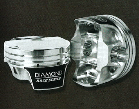 DIAMOND PISTONS: FORD MOD2K 5.0L COYOTE SERIES, with wrist pins and rings