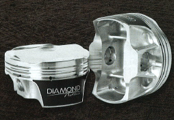 DIAMOND PISTONS: FORD MODULAR 5.2L VOODOO SERIES