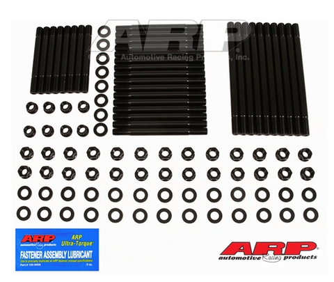 ARP FASTENERS: Hemi Head Stud Kit - World Block Six Point Nuts