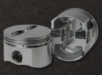 DIAMOND PISTONS: BB MOPAR 400 STREET/STRIP FLAT TOP SERIES, without wrist pins