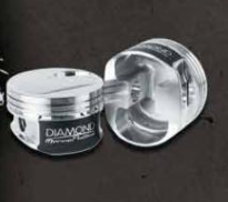 DIAMOND PISTONS: MERCURY 8.2L MAG MPI 500 525EFI SERIES