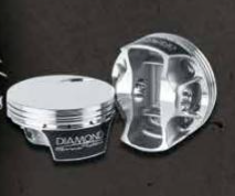 DIAMOND PISTONS: MERCURY 565EFI FLAT TOP SERIES