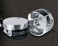 DIAMOND PISTONS: MERCURY 850SCI 1025SCI 1075SCI 1200SCI FLAT TOP SERIES