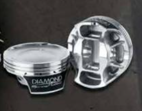 DIAMOND PISTONS: MERCURY 1100 1350 QC4V SERIES