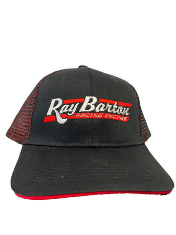 Official Ray Barton Racing Engines Hat - Red