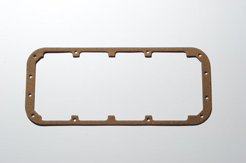 RBRE: MOPAR S/S CORK/STEEL OIL PAN GASKET - Open Pan Rail