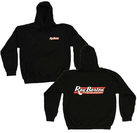 RBRE APPAREL: OFFICIAL RAY BARTON BLACK HOODIE