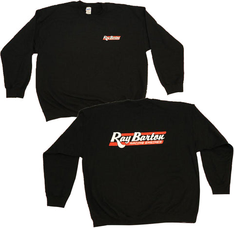 RBRE APPAREL: OFFICIAL RAY BARTON BLACK CREWNECK SWEATSHIRT