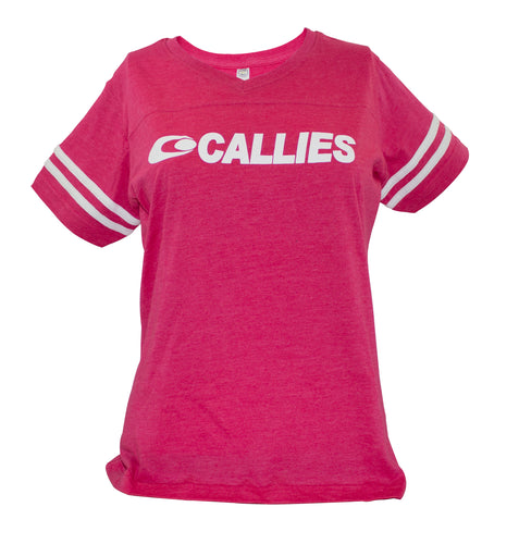 Womens Racing Stripe Top (Pink & Grey Available)