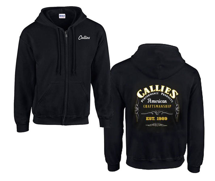 Callies Zip-Up Hoodie