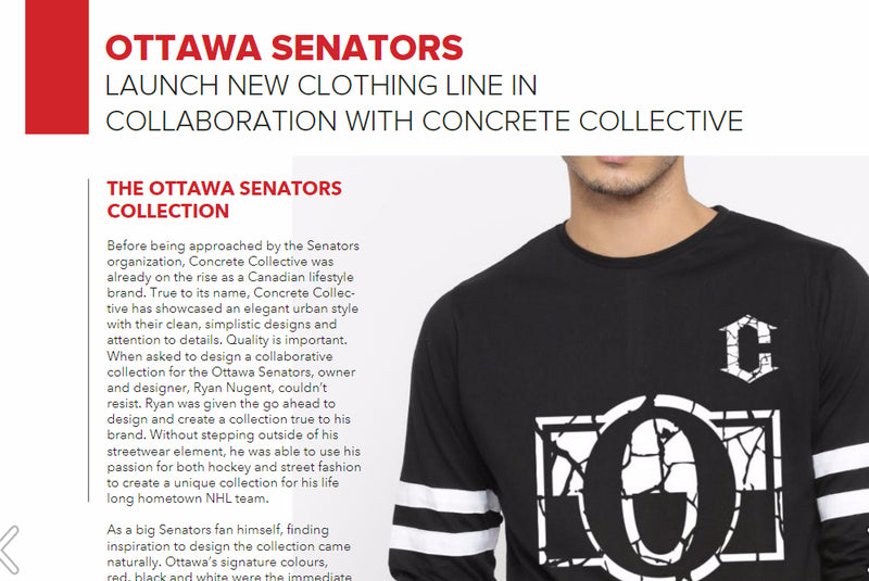 Concrete Collective Featured in Faces Magazine Ottawa!