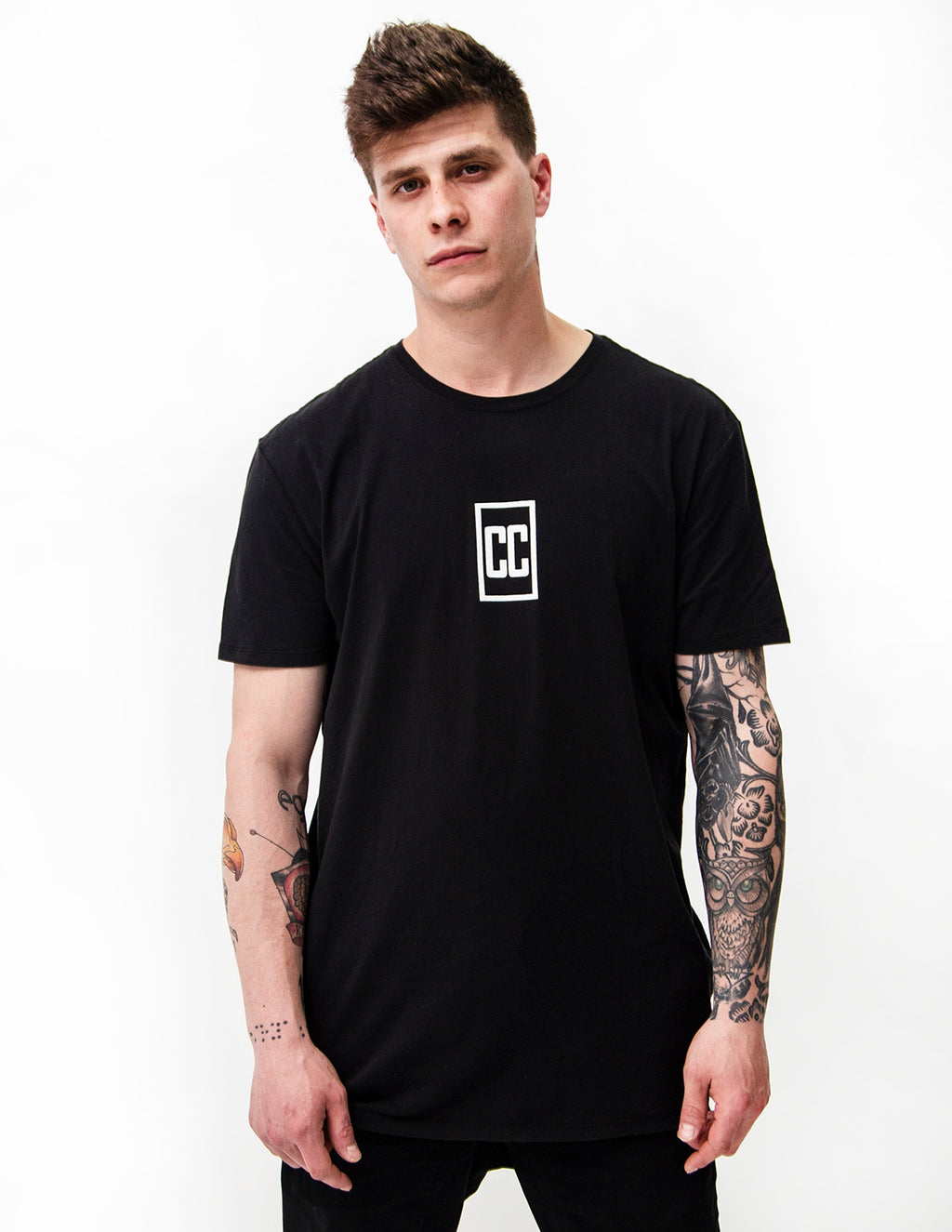 Concrete Collective Back Stripe Tee