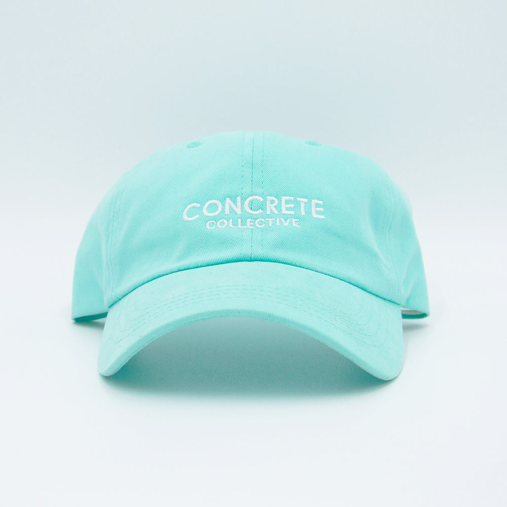 Suede Dad Cap - Diamond Blue