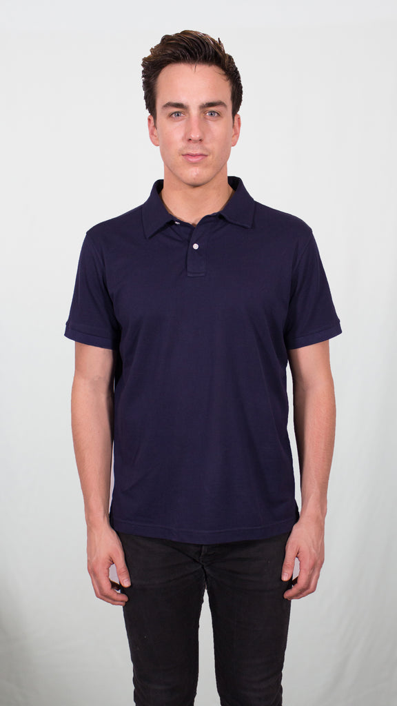 polo shirt (Navy Blue)