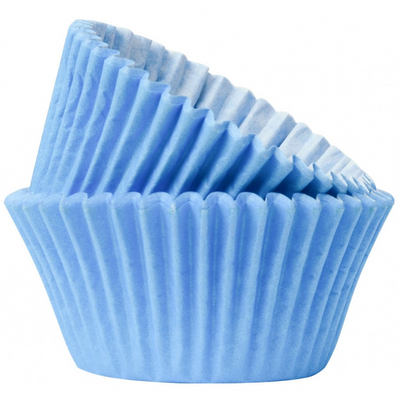 Baby Blue Muffin Cases (Pack of 50)