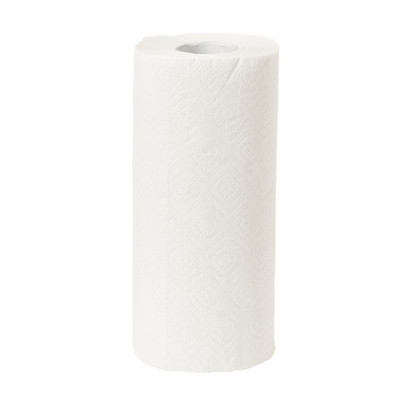 White Kitchen Roll - 2 Ply (Pack of 24 Rolls)