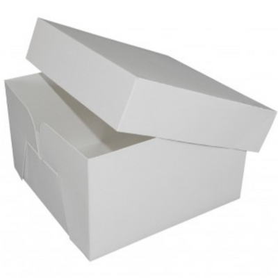 White Cake Box - All Sizes