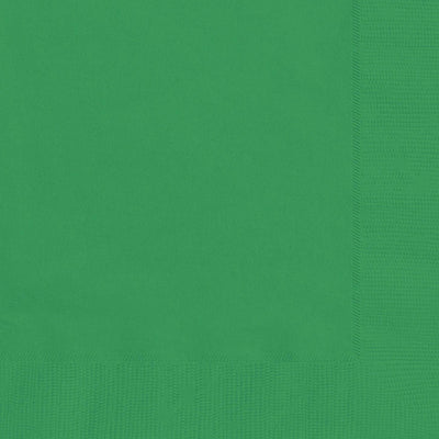 Emerald Green Square Paper Napkins 33cm (20 Pack)