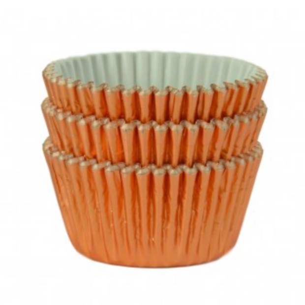Rose Gold Foil Cupcake Cases (Pack of 45)
