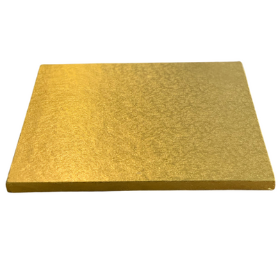 Square Cake Drum Board Gold - All Sizes