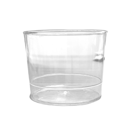 Plastic Round Dessert Cups Clear 180ml (30 Pack)