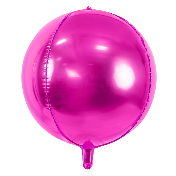 Hot Pink Foil Balloon Ball 16""