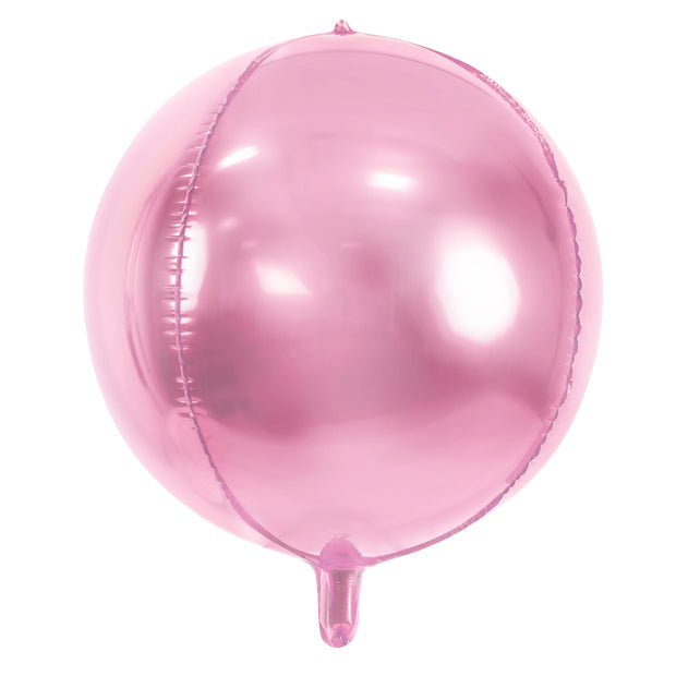 Baby Pink Foil Balloon Ball 16""