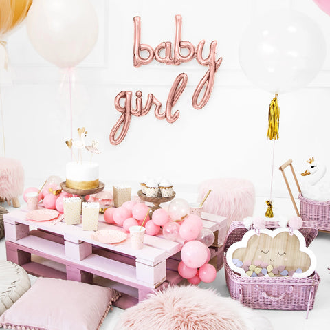 Girl Rose Gold Foil Balloon