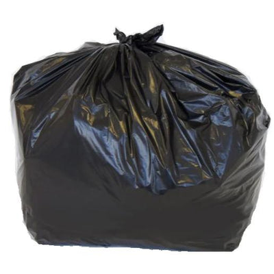 Black Refuse Sacks - Extra Heavy Duty (Flat Pack of 25 Bags)