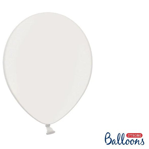 "White Strong Latex Balloons 12"" (10 Pack)"