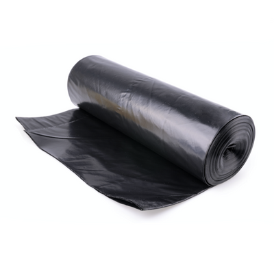 Black Refuse Sacks - Heavy Duty (Roll of 20 Bags)