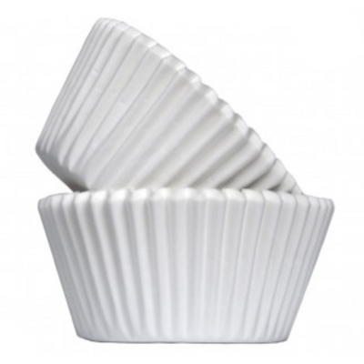 White Muffin Cases (Pack of 50)