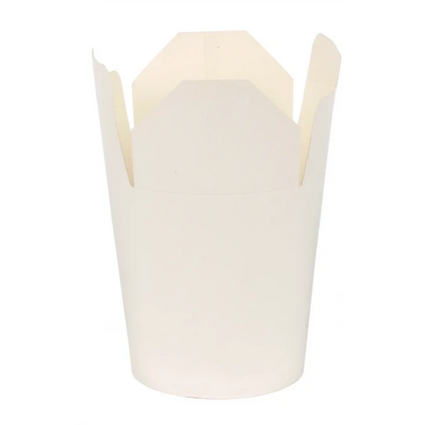 White Noodle Boxes (Pack of 50) - 3 Sizes Available