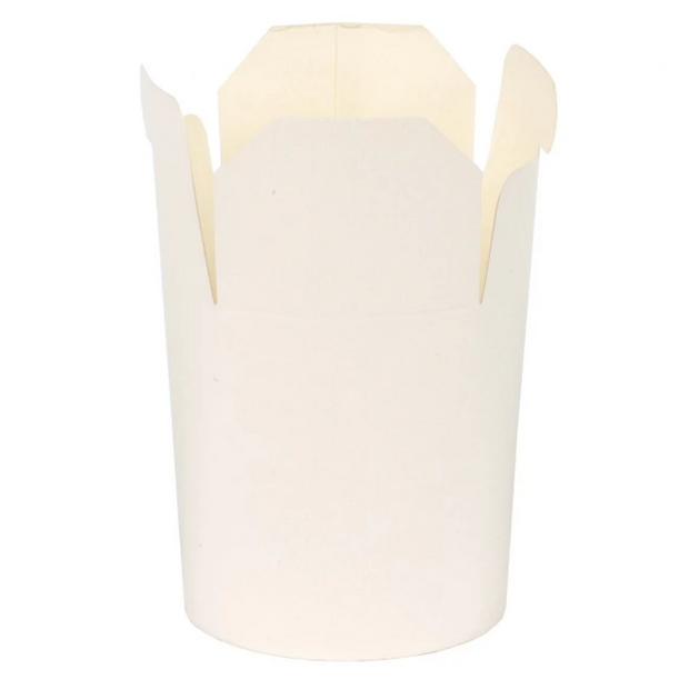 White Noodle Boxes 26oz (50 Pack)