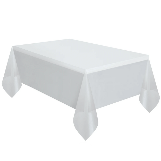 Clear Plastic Table Cover 1.37m x 2.74m