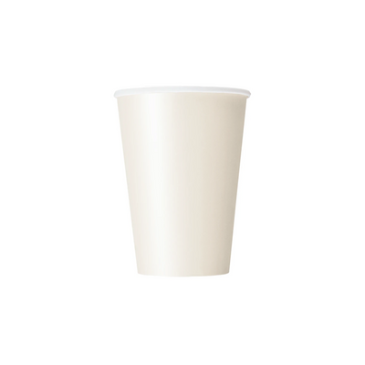 Ivory Paper Cups 270ml (14 Pack)