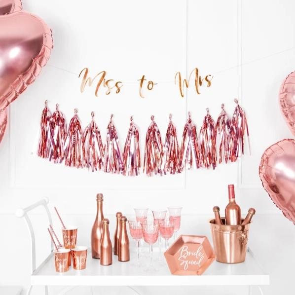 Rose Gold Tassel Garland (1.5m)