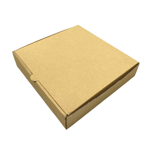 "7"" Kraft Brown Cake / Pizza Box"